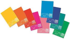 Quadernoni Blasetti A4 One color 100 con copertina a colori assortiti