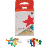 Puntine cartografiche Push pins assortite 5 Star
