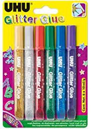 I colori UHU Glitter Glue