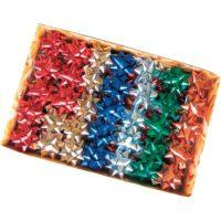 Stelle adesive per pacchi regalo Brizzolari