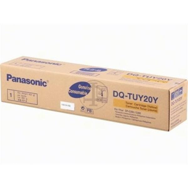 Toner Panasonic DQ-TUY20Y-PB di colore giallo