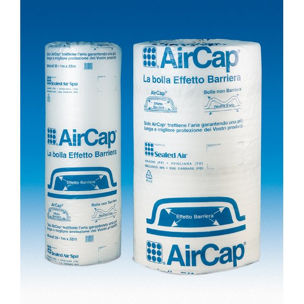 Rotolo con bolle d'aria 1x100mt aircap Sealed air