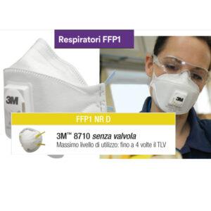 Mascherina protettiva lavabile FFP1 della 3M